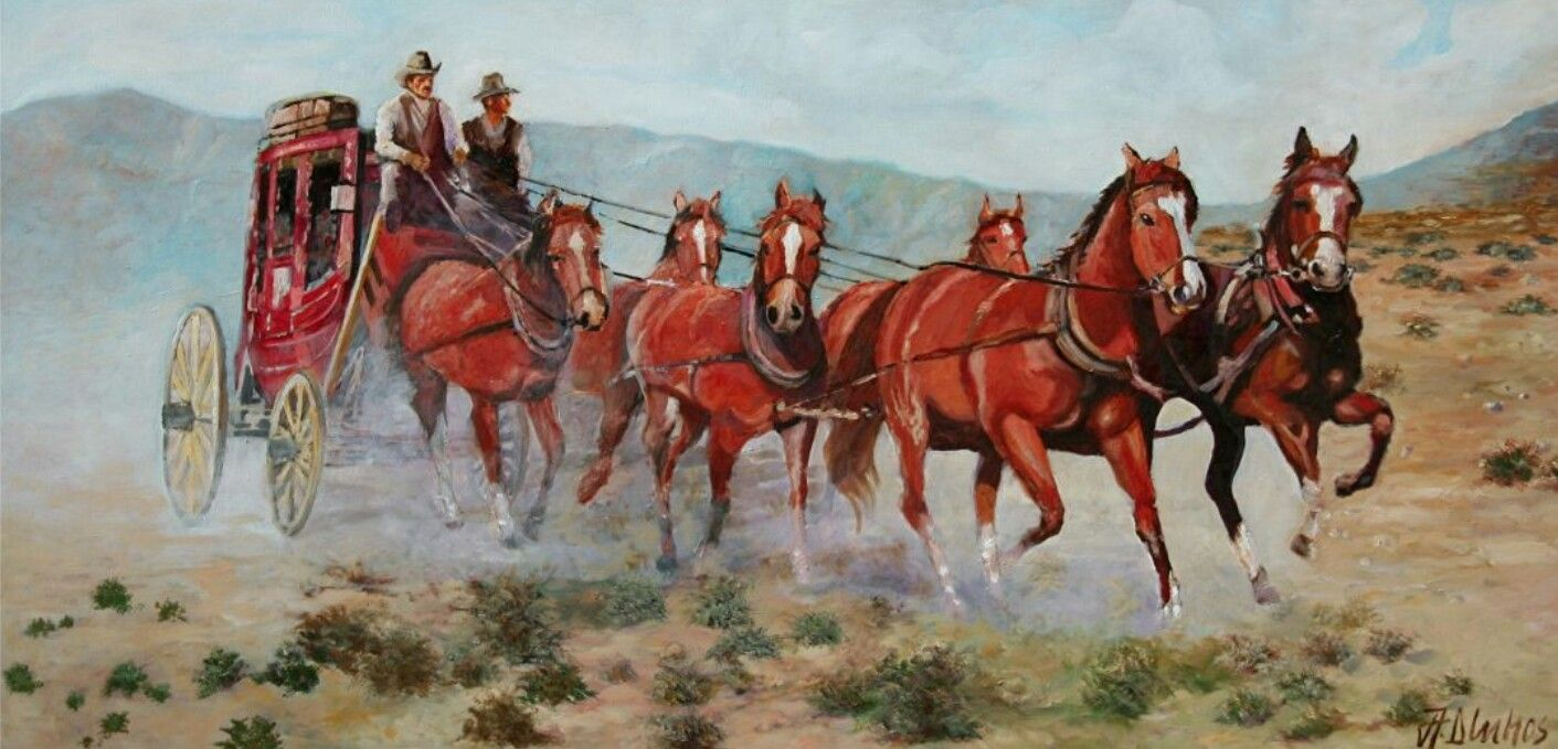 Old West Stagecoach Photograph by Heather Swan  |Large Western Stagecoach Art