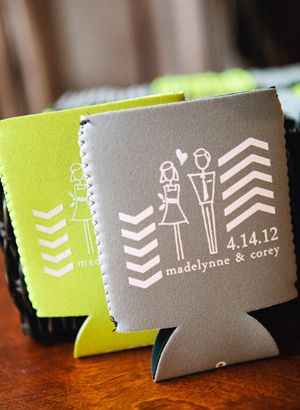 Personalized Koozies Are The Perfect Wedding Favor