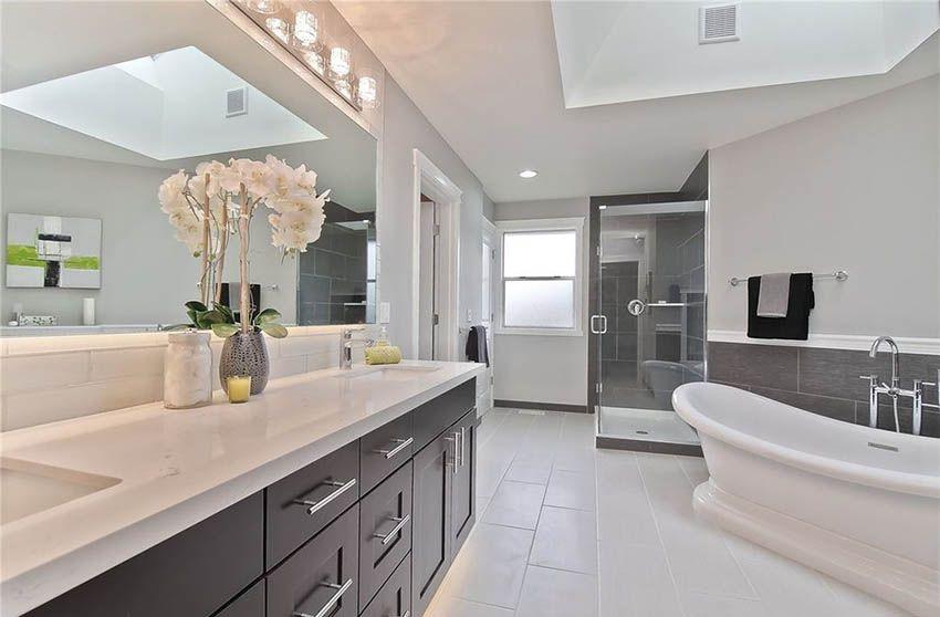 Guest Bathroom Vanity Organization
