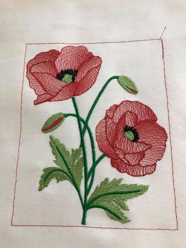 26+ Embroidery Designs Free Download Flowers