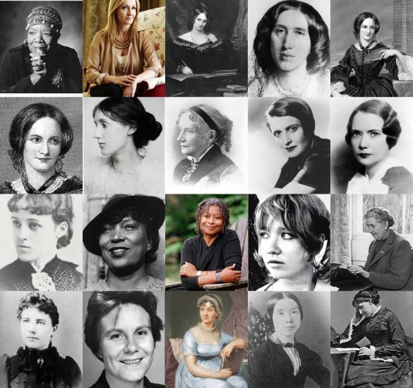 20 Most Influential Women Authors Of All Time | Woman authors ...