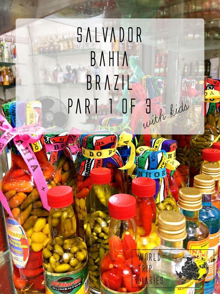 Salvador, Bahia, Brazil part 1 Bahia, Brazil, World