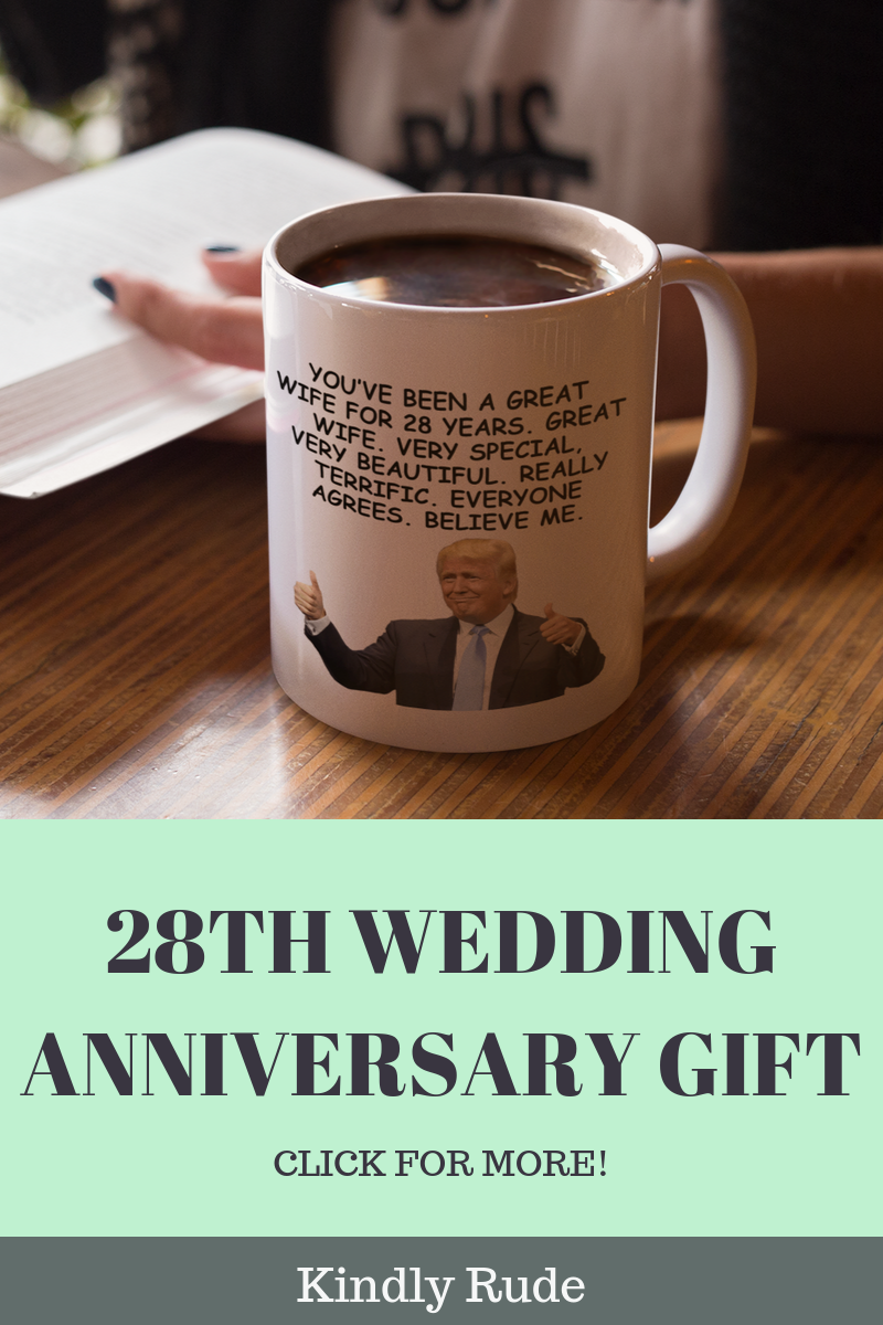 This Is The Funniest 28th Anniversary Gift Ever If You Have No