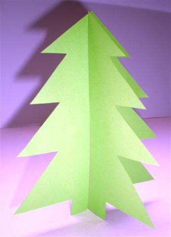 Kerstboom In 3d Maken Om Te Versieren Kerstknutsels Kerst