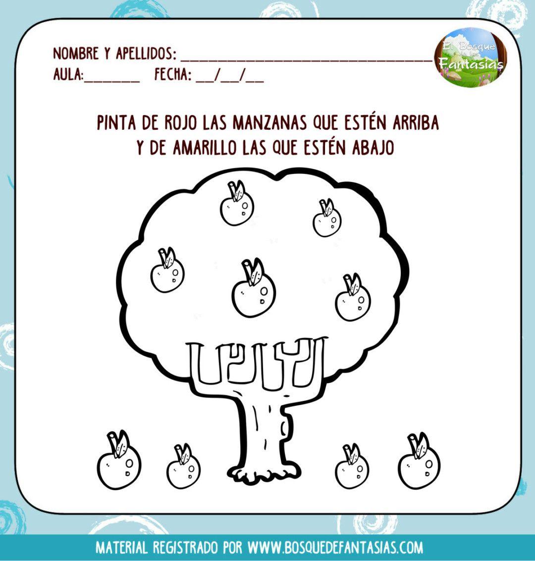 Fichas De Lateralidad Hoja 3 Actividades Para Ninos Preescolar Ejercicios De Lateralidad Estimulacion Cognitiva Ninos