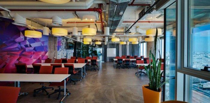 google campus tel aviv. Google Campus Tel Aviv Offices E