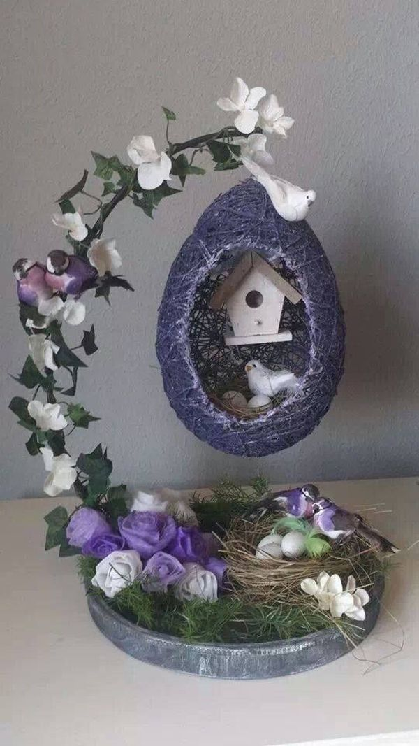 Photo of You only need 3 things to make such a special Easter decoration