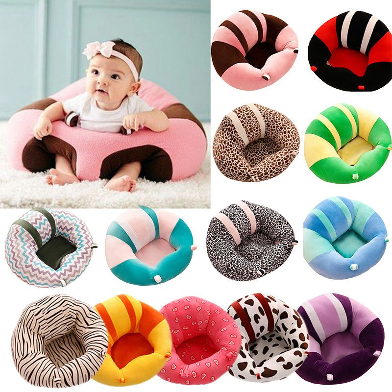Baby Support Seat Sofa Cute Soft Animals Shaped Infant