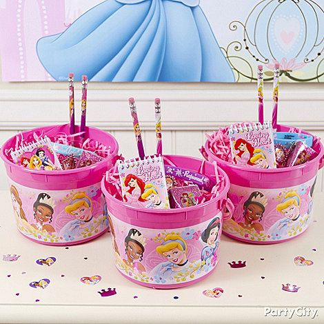 Treat your guests like royalty with their very own Disney Princess