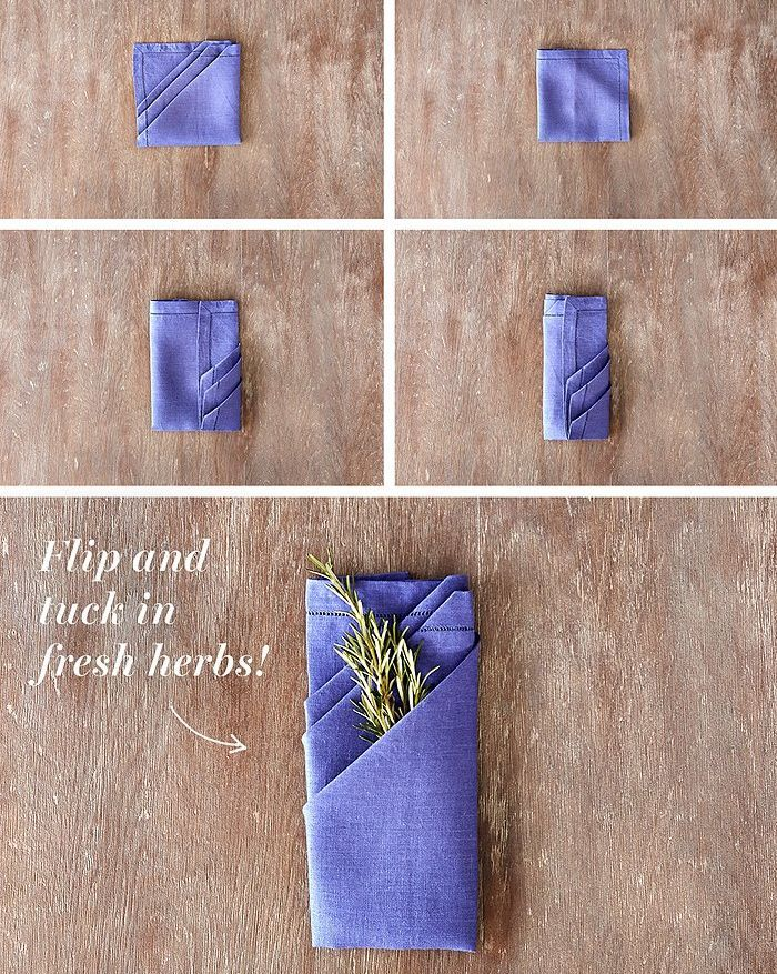 21 Best Napkin Folding Ideas for All Your Holiday Dinners