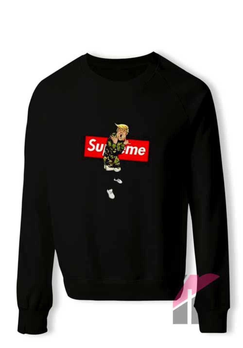 Supreme Trump Crewneck Sweatshirt Price 21 00 Tshirt Hoodies Hoodie Shirt Tanktop Sweater Sweatshir Sweatshirts Supreme Sweatshirt Crew Neck Sweatshirt [ 1432 x 1000 Pixel ]