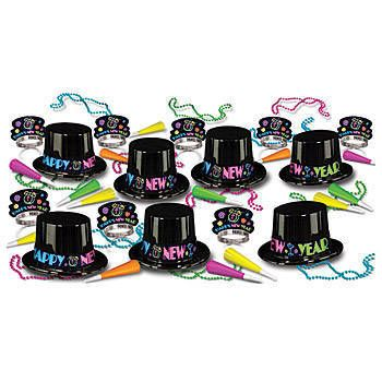 Our Neon Party Kit will let your guests ring in the new year with