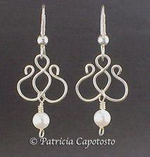 Wire Angel Earrings Tutorial