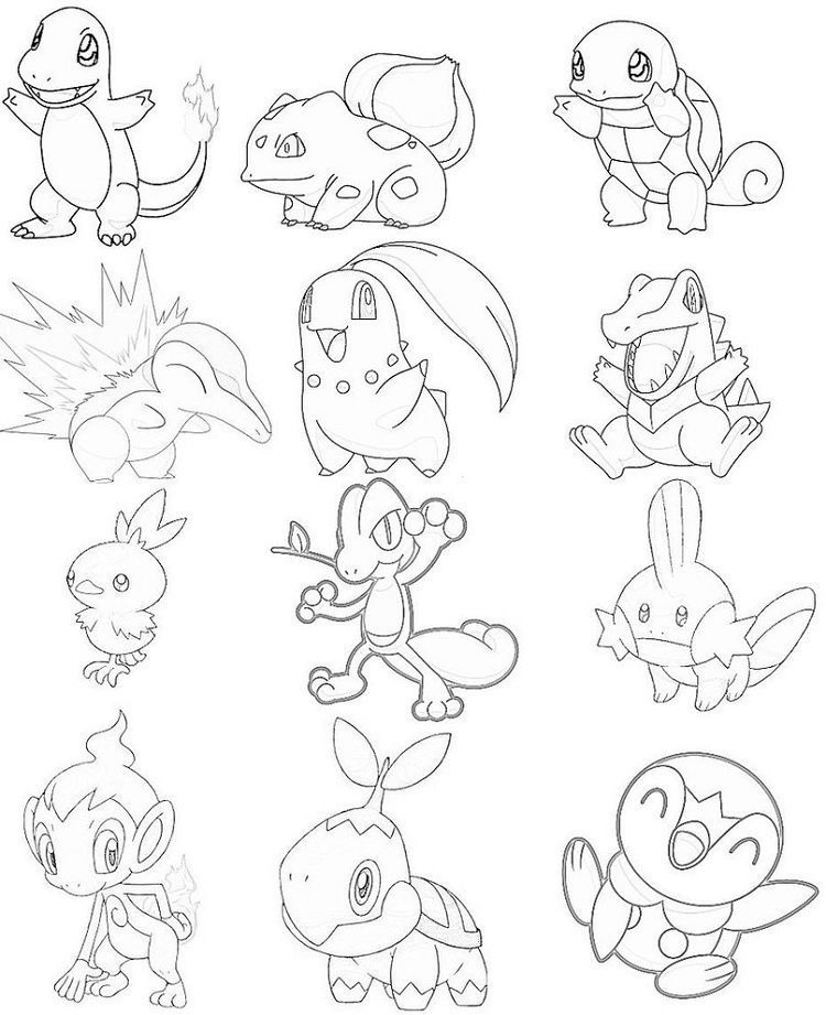 Pokemon Kanto Coloring Pages Pokemon Coloring Pages Pokemon Coloring Coloring Pages
