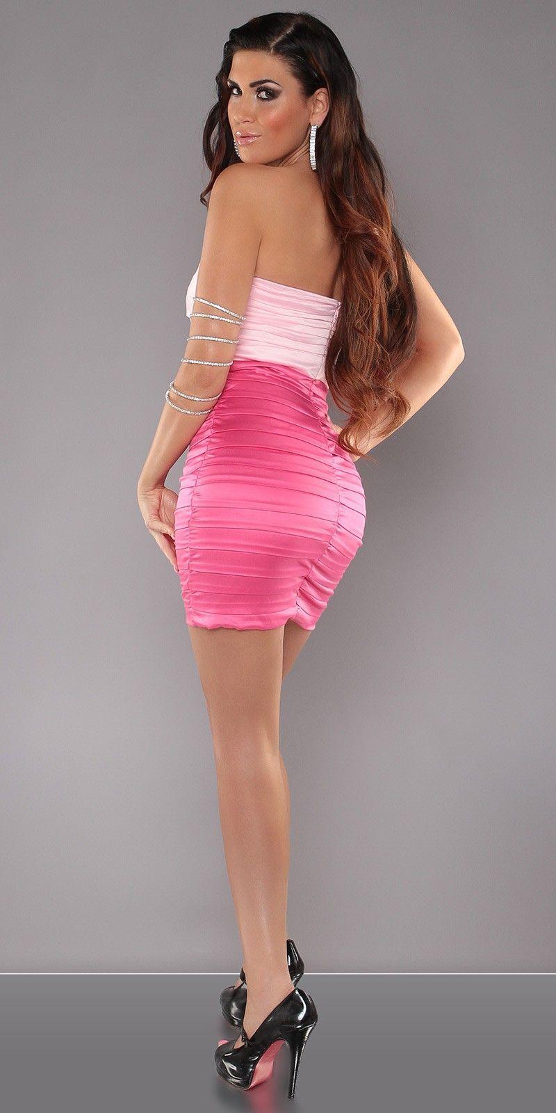 vestidos-rosa-sexy-atrevido | Dresses / Fashion | Pinterest ...