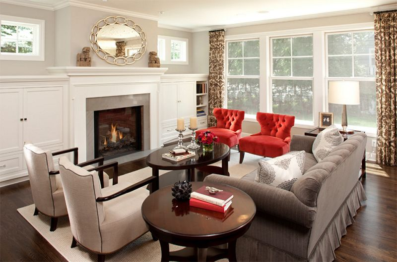 20 Red Chairs To Add Accent To Your Living Room Home Design Lover Red Chair Living Room Accent Chairs For Living Room Living Room Chairs #red #accent #chairs #living #room