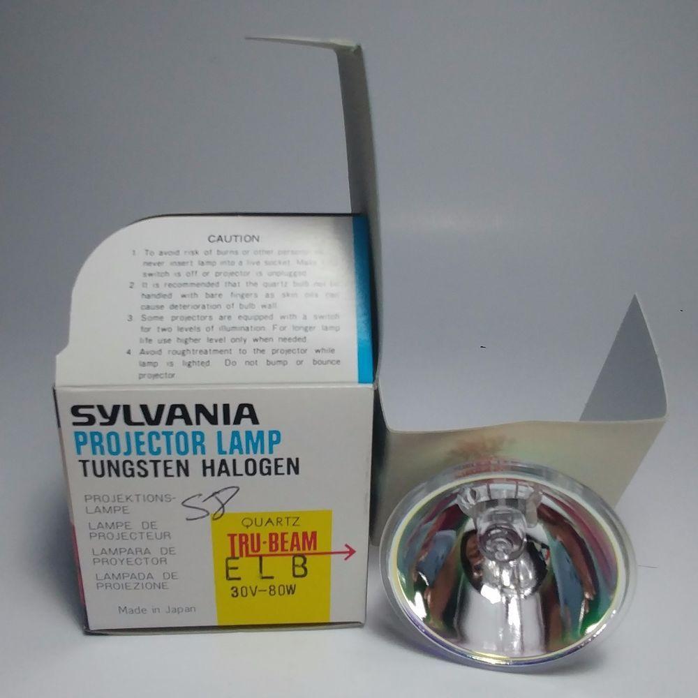 Sylvania Projector Lamp Tungsten Halogen Quartz Tru Beam Elb 30v 80w Sylvania Photo Lamp Projector Bulbs Lamp