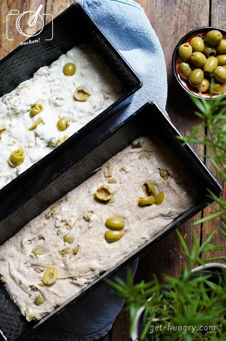 The easiest olive bread in the world - go hungry!