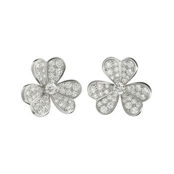 Van Cleef Arpels Frivole Earrings Maybe Just The Gold Ones Not Full