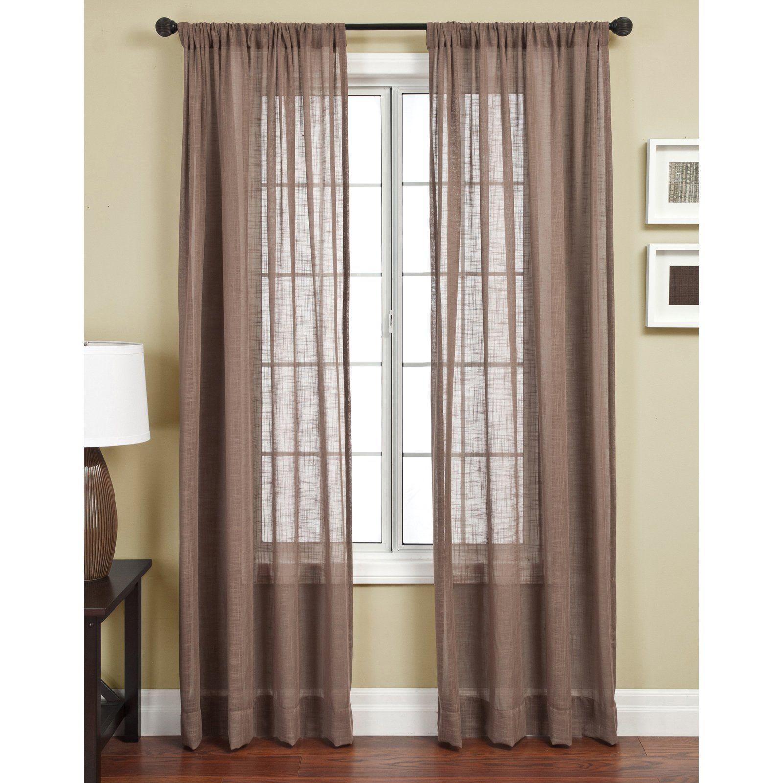 Softline Universal Window Curtain Panel