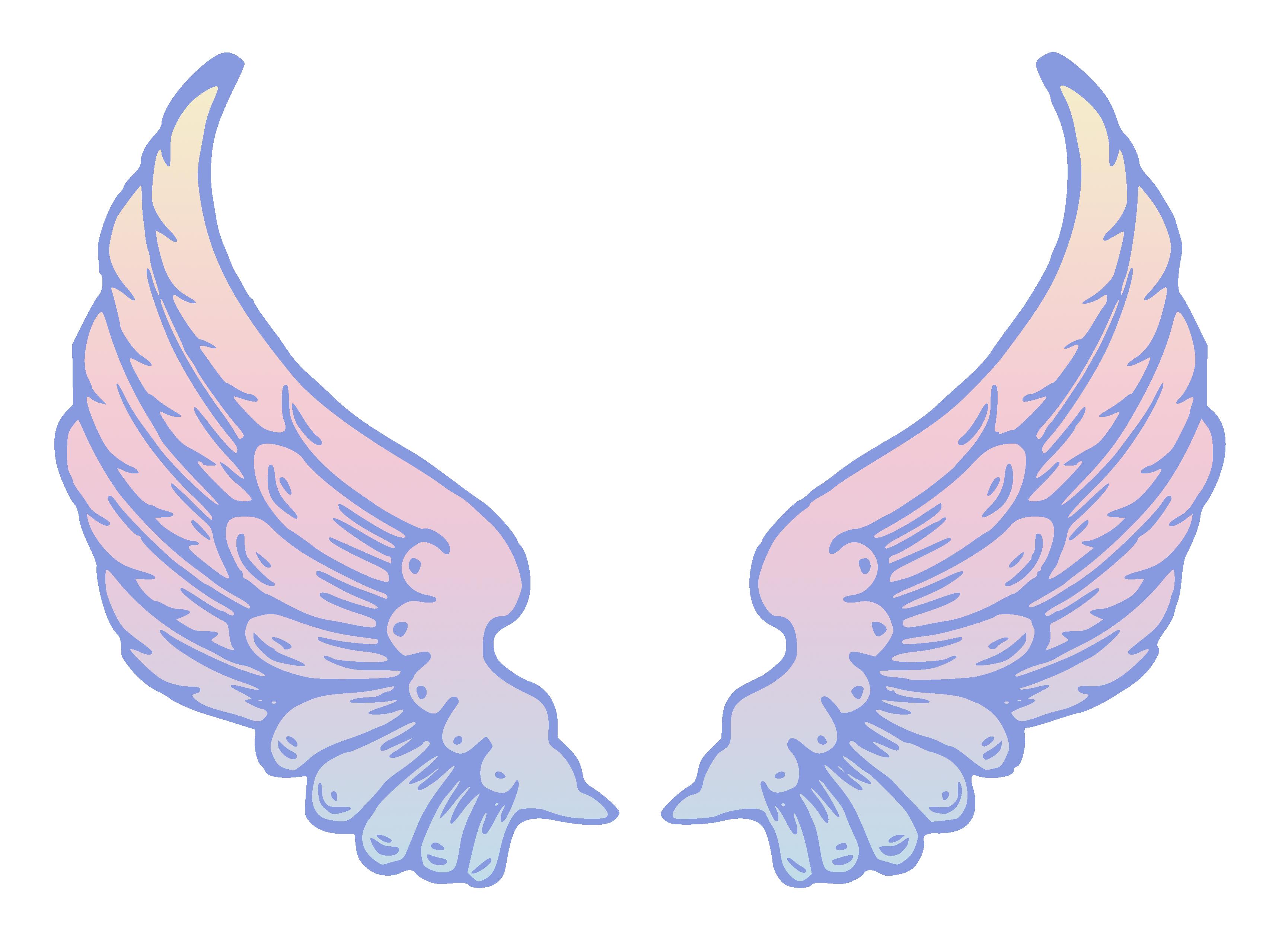 Крылья ангела картинки рисованные, картинки днем рождения