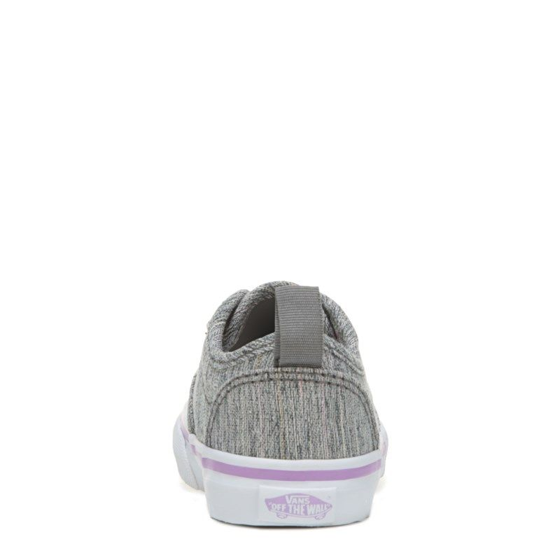 64bba6c549 Vans Kids  Atwood Slip-ON Sneaker Toddler Shoes (Grey Purple Textile)