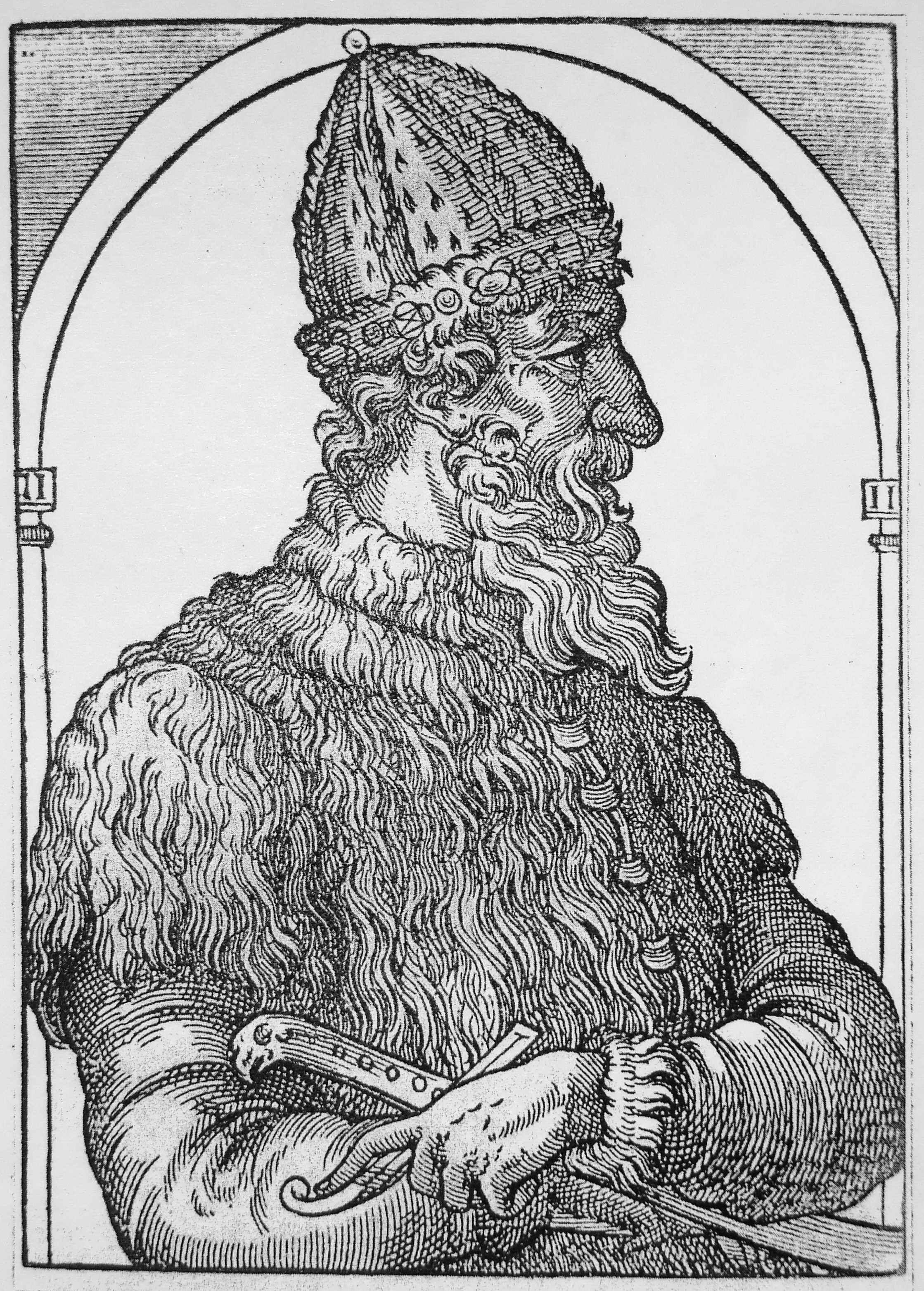 Ivan Iii Vasilyevich Of Russia 1440 1505 Woodcut Grand Prince Russian History