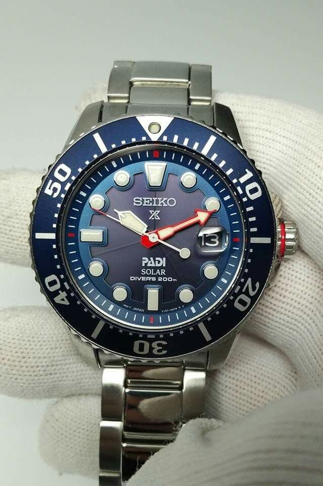 25efeea6a42 Seiko SNE435 Solar PADI Dive Watch