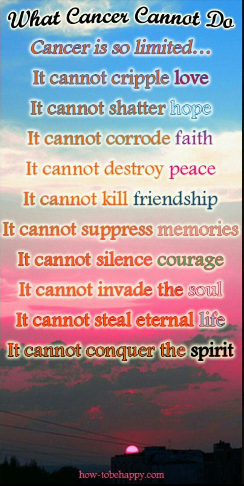 Park Art|My WordPress Blog_What Cancer Cannot Do Quote