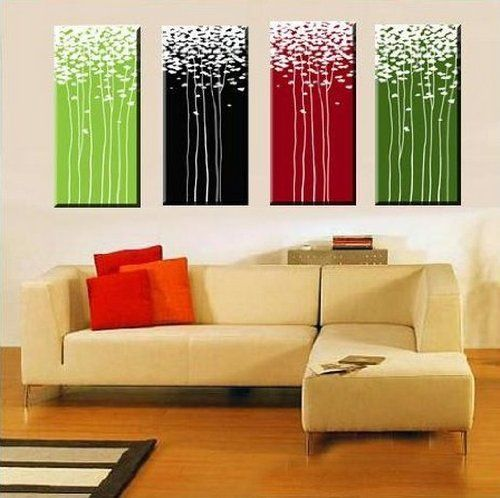 Amazon Com 100 Hand Painted Abstract Wall Canvas Art Sets Painting For Home Decoration Oil Paint Modern Wall Canvas Modern Wall Art Prints Wall Art Wallpaper