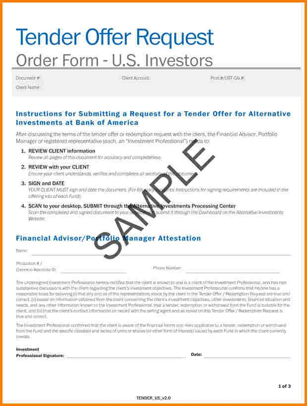 How To Wrote Tender Later  Quote Templates  Lexar F