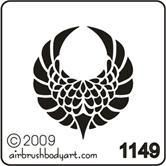 celtic stencil   CLICK ON Airbrush Temporary Tattoo Stencil Image to enlarge