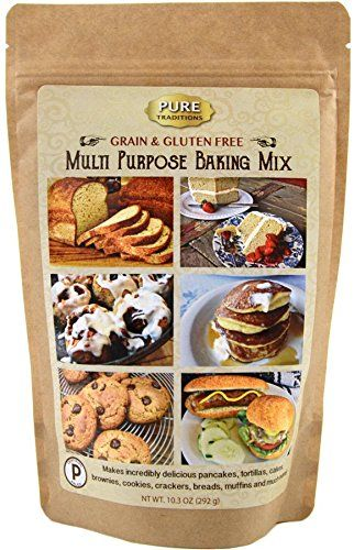 Certified Paleo Multi Purpose Baking Mix  100 Grain and Gluten Free >>> You can find out more details at the link of the image.