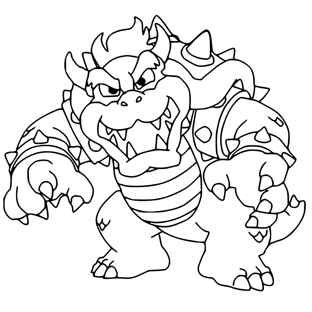 Bowser Coloring Pages Best Coloring Pages For Kids Mario Coloring Pages Cartoon Coloring Pages Coloring Pages