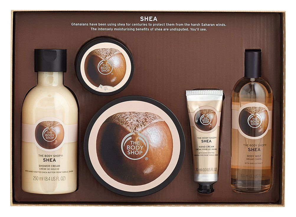 The Body Shop Shea Premium Selection Medium Gift Set * To view ...