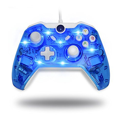 Beneglow Led Afterglow Dual Vibration Wired Gamepad Controller For Microsoft Xbox One Pc Not Compatible With Xbox 360 Xbox One Controller Xbox Xbox One Pc