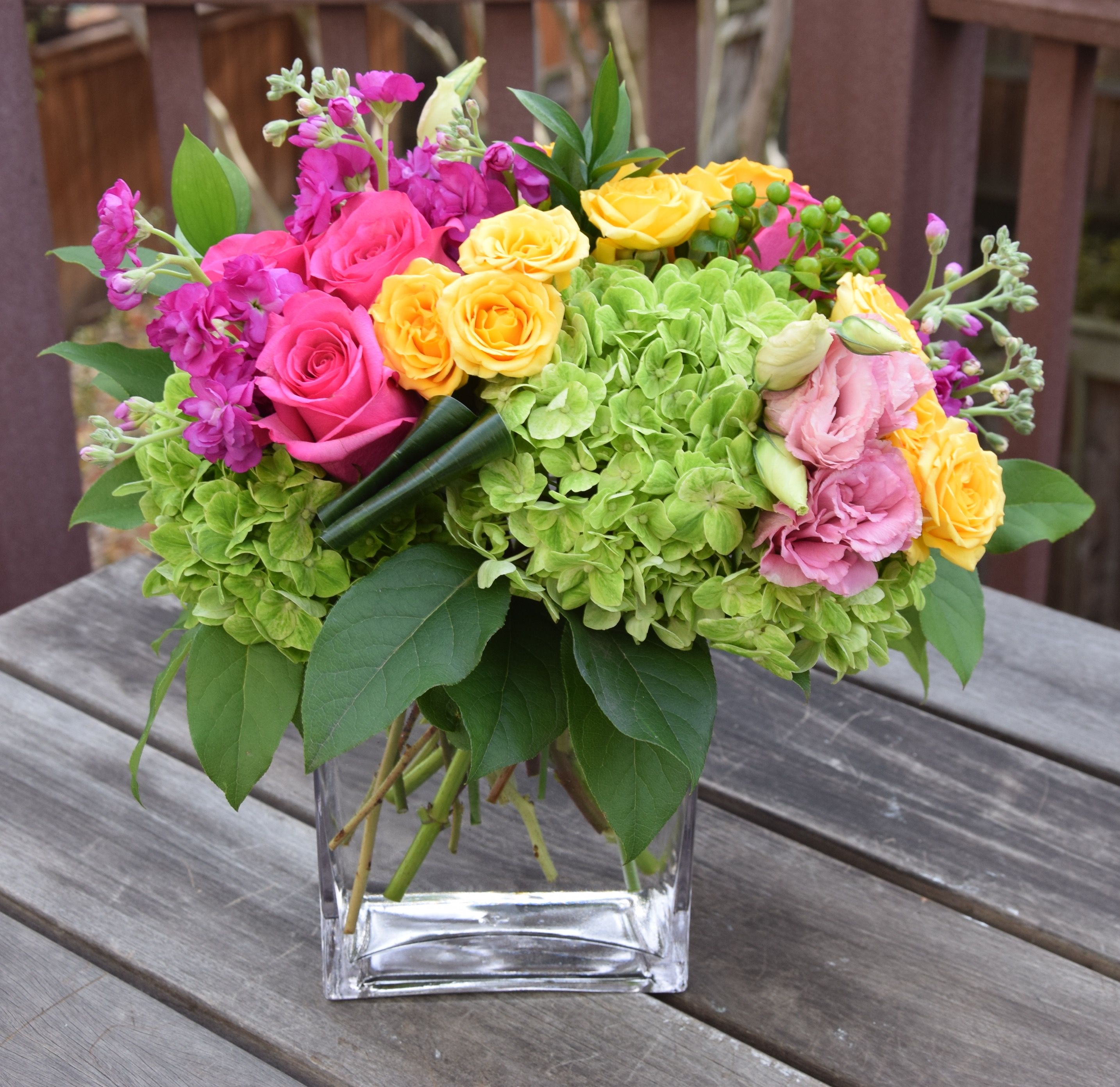 Fresh flower bouquet in a vase created by fleurelity fleurelity fresh flower bouquet in a vase created by fleurelity izmirmasajfo