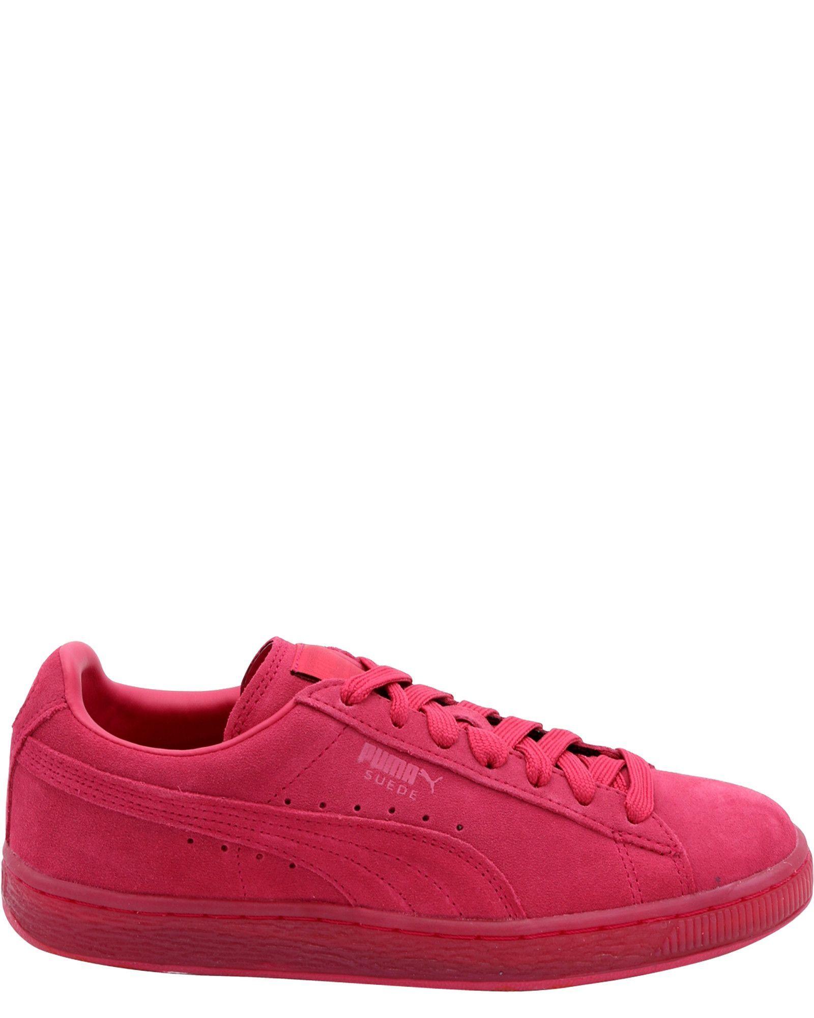 Girl's Suede Classic Jr Sneakers (Grade School)