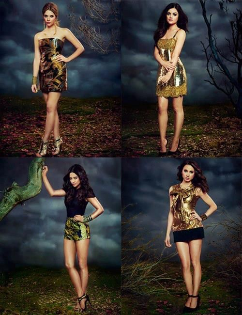 Tendencias en la 4ta temporada de Pretty Little Liars | Pinterest ...