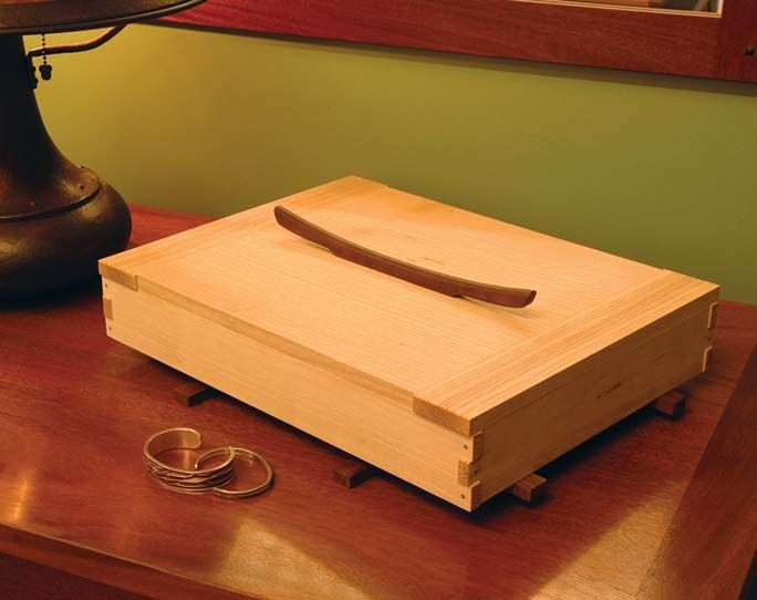 Jasmine Jewelry Box Woodworking Box And Joinery