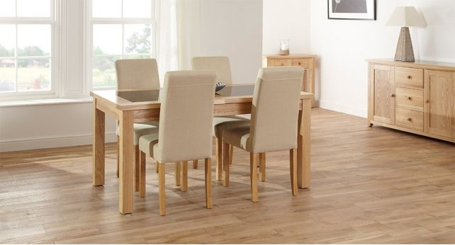 Fusion Large Extending Table 4 Harlequin Chairs Scs Sofas