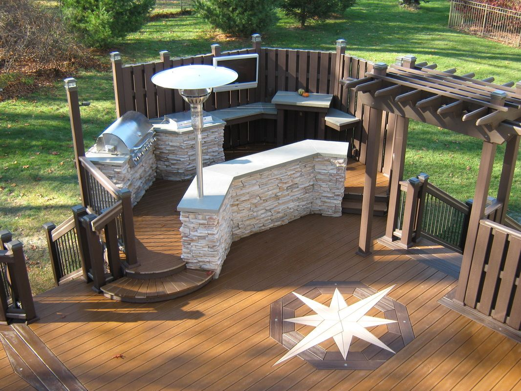 Trex transcend composite decking with inlays built in bethlehem trex transcend composite decking with inlays built in bethlehem pa tree house do it yourself baanklon Images