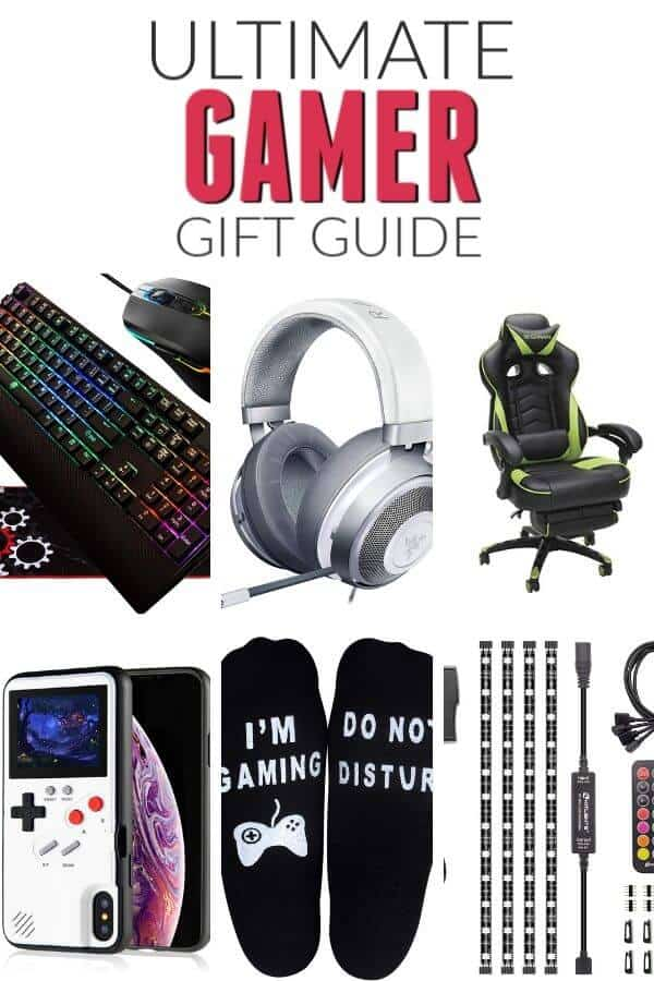 This List Of Cool Gifts For Gamers Of All Ages Is A Life Saver From The Most Wanted Gear To Accessories And Wearabl Gamer Gifts Gamer Gift Guide Gaming Gifts