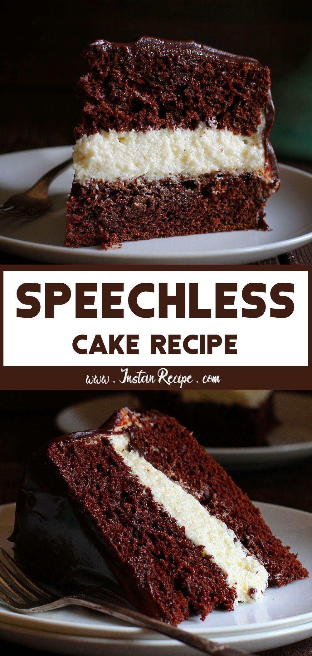 Speechless Cake #chocolatecake
