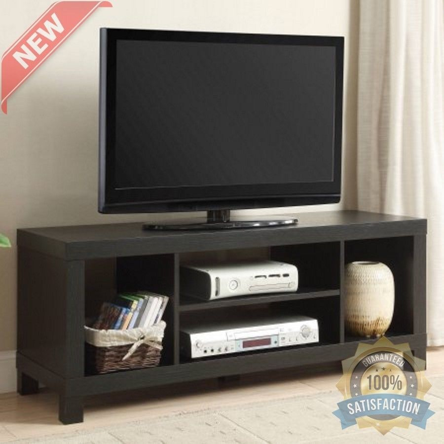 Tv Stand Table With Shelves For Flat Screens Furniture Living Room ...