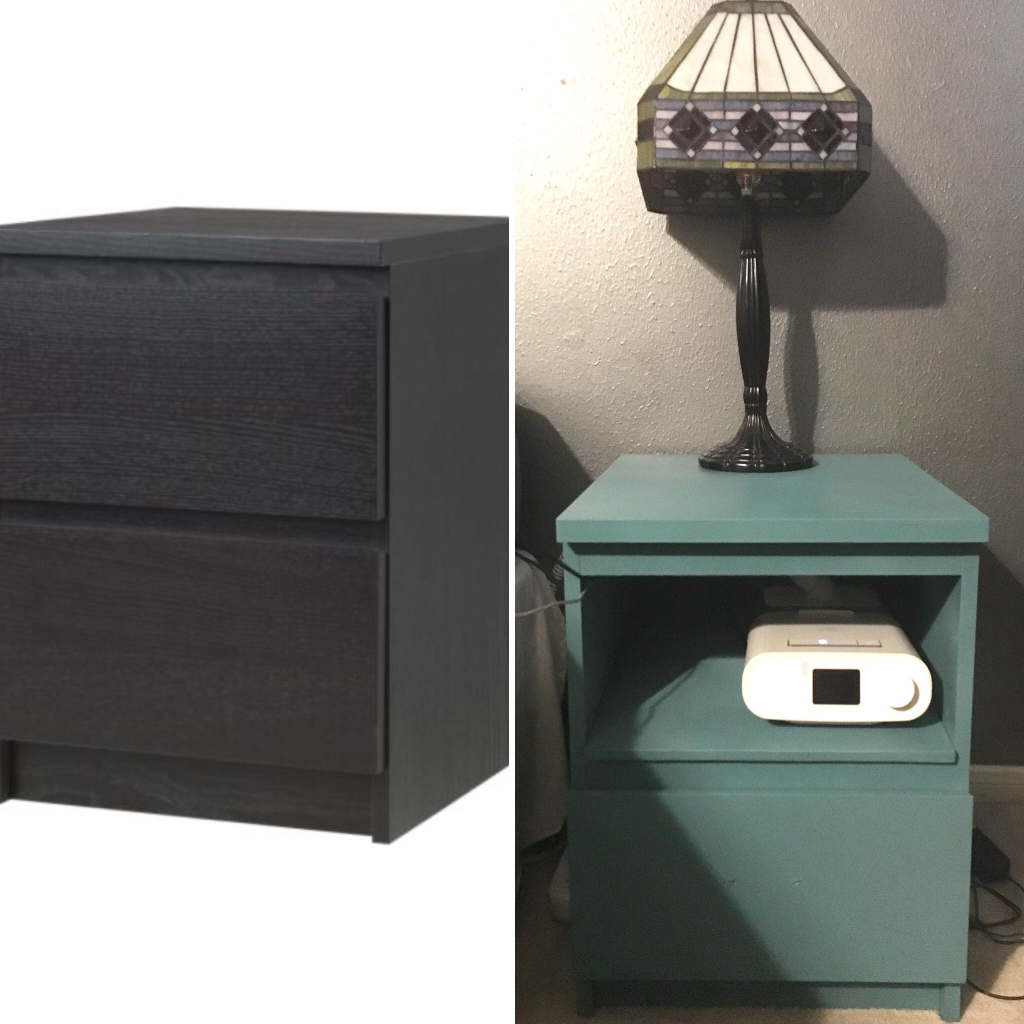 Malm Nightstand Hack To Accommodate A Cpap Machine House