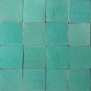 Zellige fliesen t rkis einrichten wohnen pinterest - Badezimmer marokkanisch ...