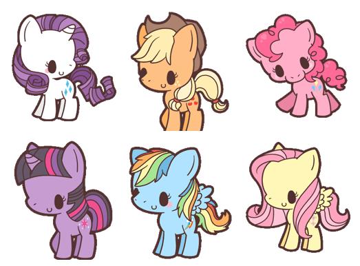 Chibi My Little Pony Pattern Package   bijou kawaii   Pinterest ...