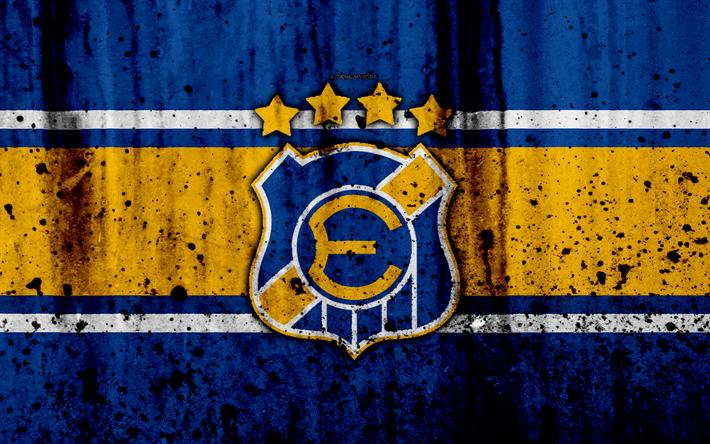 футбол 1 Wallpaper: Download Wallpapers 4k, FC Everton De Vina, Art, Grunge