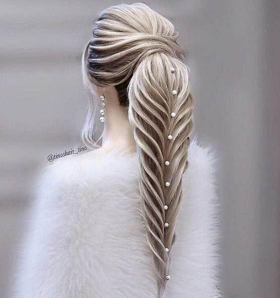 102 Beautiful Wedding Hairstyles and Bridal Hair I